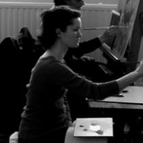 Séance de dessin,cours de peinture et dessin